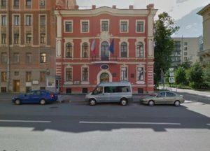 Консульский округ Генерального Консульства Чехии в Санкт-Петербурге