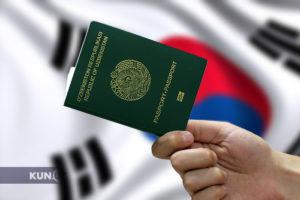 Виза в Корею для граждан Узбекистана