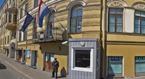 Посольство Франции в городе Москва