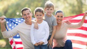 Члены семьи граждан США