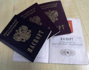 гражданину Российской Федерации паспорта