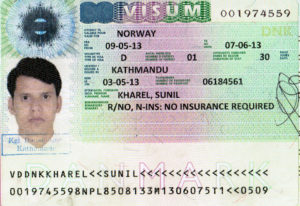 Норвежская виза