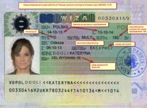 открыть национальную рабочую визу в Польшу