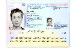 паспорт голландии