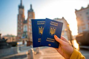 Паспорт гражданина Украины иего копия