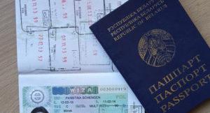 Польская виза для белорусов