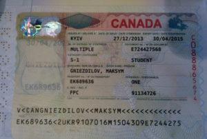 разрешения на учебу в Канаде