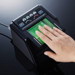 сканирования отпечатков пальцев