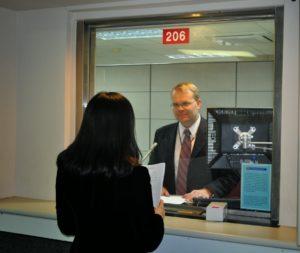 Собеседование в посольстве