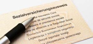 Документ о социальном страховании (Sozialversicherungsausweis) на работу в Германии