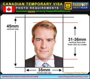 Требования к фото в Канаду_