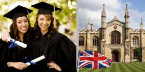 учебу в Англию