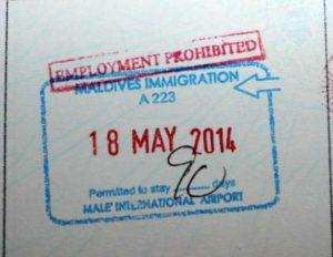 Виза на Мальдивы для белорусов