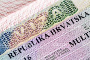 Пакет документов на визу в Хорватию