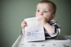 загранпаспорта ребенку