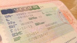 Наличие Шенгенской визы