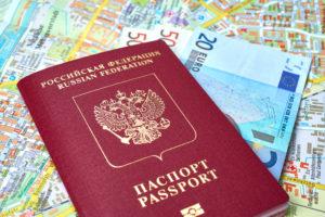 паспорт с открытыми визами