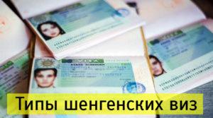 Типы и виды шенгенских виз